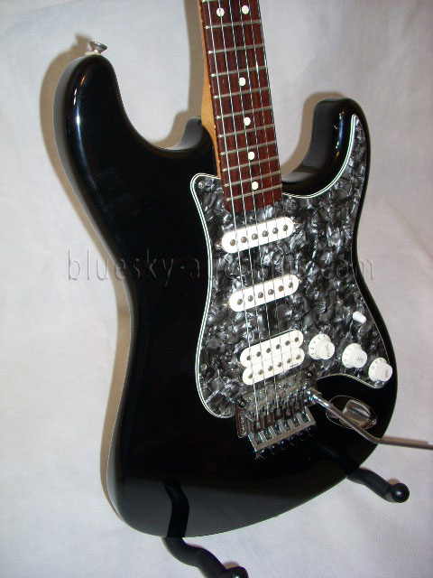 black and pearl richie sambora signature fender