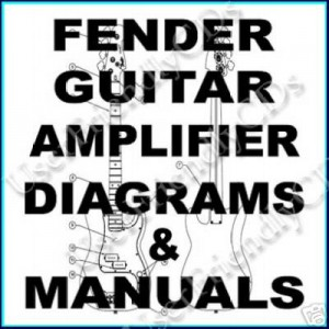 Fender guitars and amps manuals