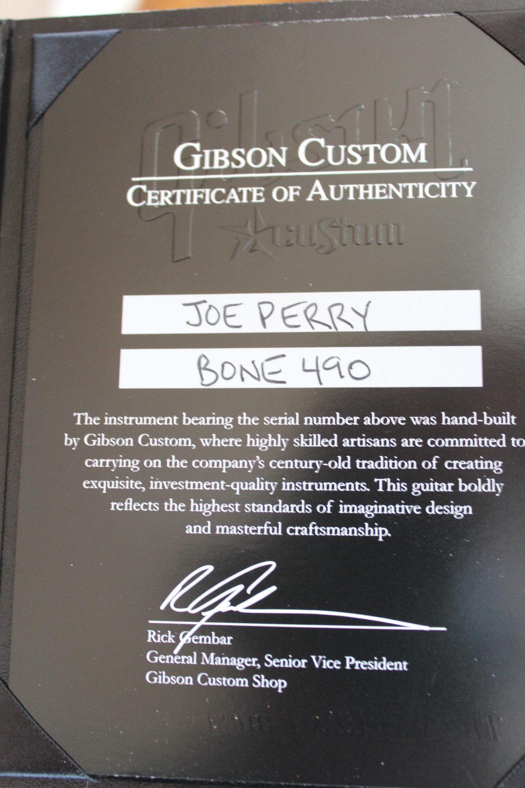 Joe Perry Boneyard Les Paul | Waxer nl