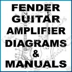 Fender guitars and amps manuals