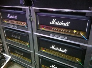 Richie's 2010 amps in Melbourne